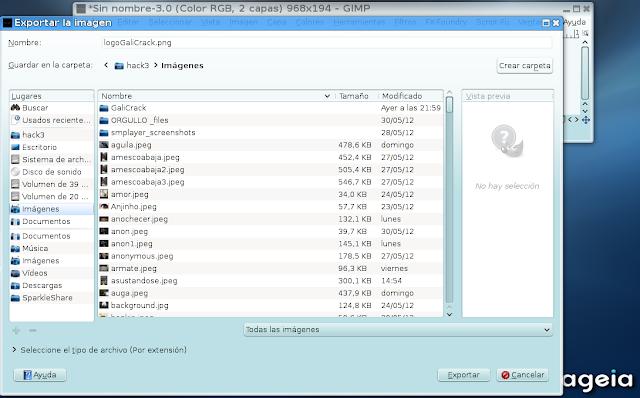 Crear/Editar Logo con GiMP FX-Foundry Linux31