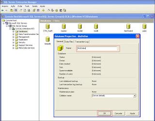 Como Restaurar uma Database no SQL Server 2000 Part2