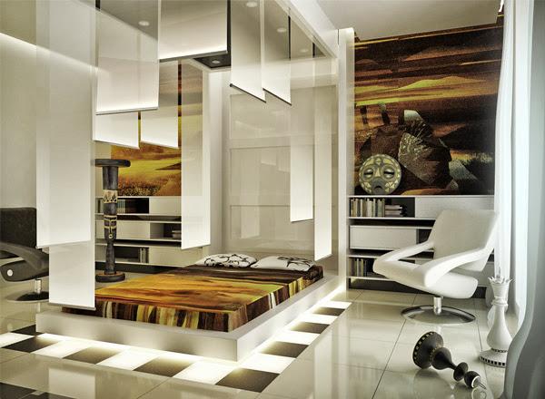 صور تصاميم ديكورات غرف نوم مودرن رائعة 2014 Bedroom Decoration  2-abstract-bedroom