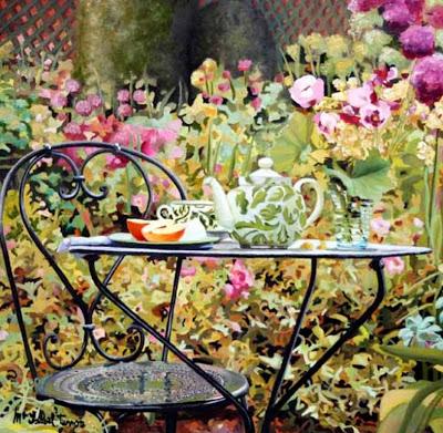 ... Y caen las hojas, llega ....¡¡¡ EL Otoño !!! - Página 6 Cuadros-con-jardin-y-flores