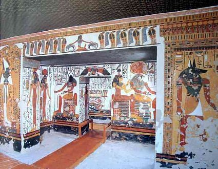 Now You Can Take A Virtual Tour Inside Queen Nefertari's Incredible 3,000-Year-Old Tomb Tumba%2Bde%2BNefertari