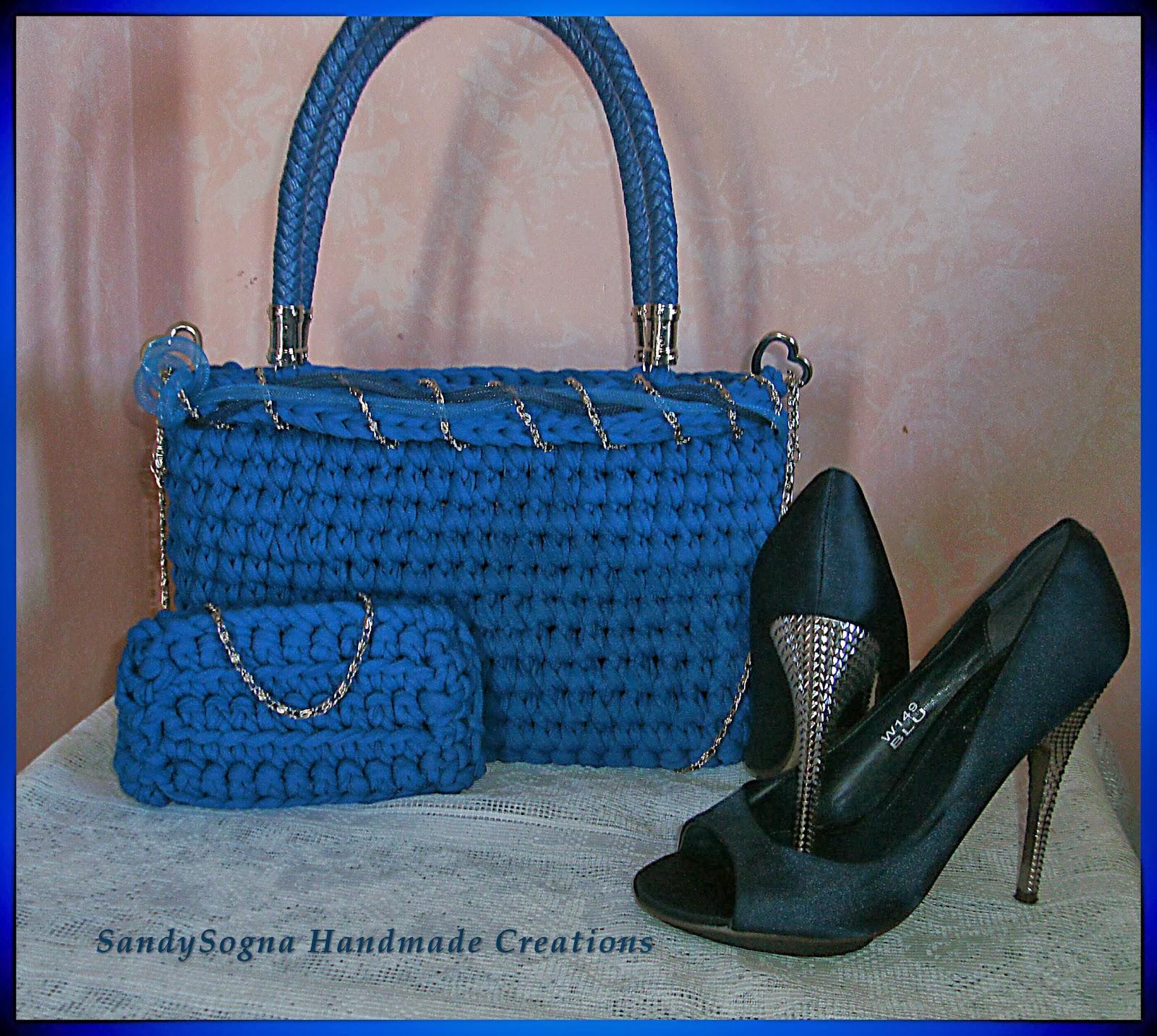 Cielo Blu.. borsa in fettuccia Borsablu1