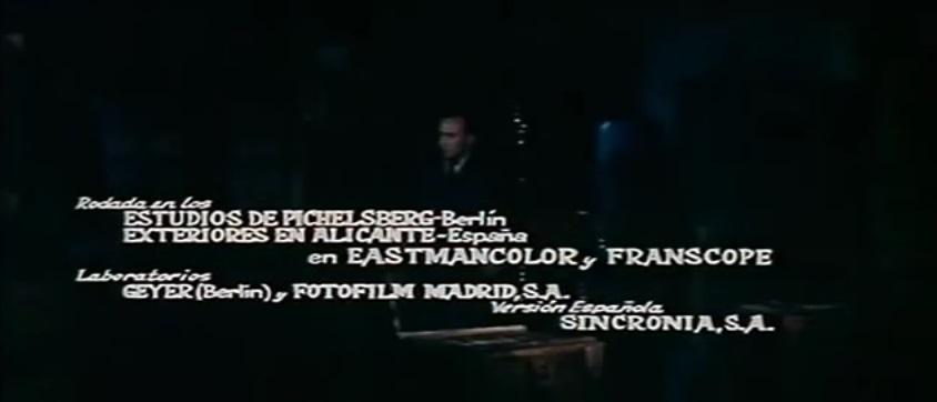Corrida pour un espion. 1965. Maurice Labro. Franscope_Persecucion