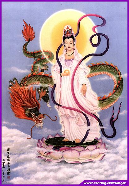 La voie shamanique du Dragon . Kuan-yin