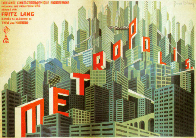 Métropolis - Fritz Lang - 1927 Metropolis-3