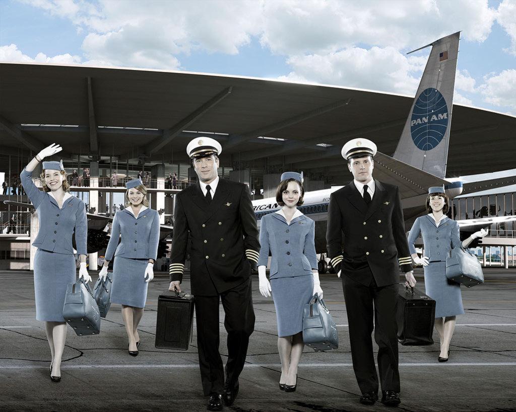 Série de TV - Pan Am. Pan-am-abc