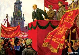 """""""El concepto leninista de la propaganda y la agitación"""" - escrito por A. Pankratova en Pravda Lenin_discurso1"""