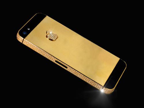 """""""آيفون"""" من الذهب والألماس بقيمة 10 ملايين دولار 1"""