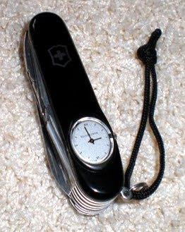 Se busca Victorinox SwissChamp Super Timer negra (robo en aeropuerto) Swisschamp