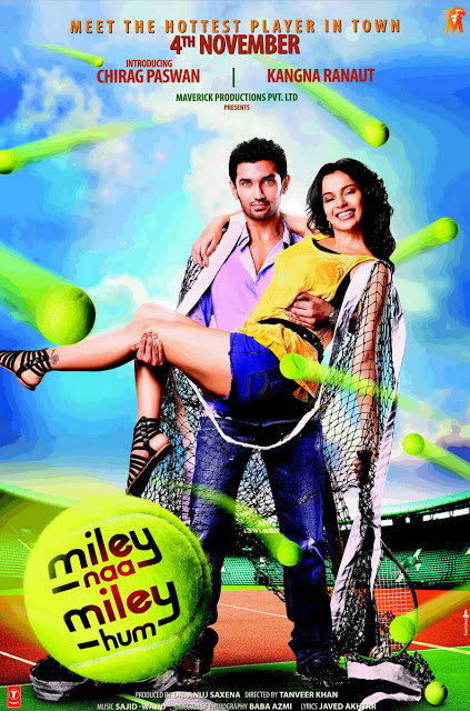 Bollywoodske plagáty 265975%252Cxcitefun-miley-naa-miley-hum-poster