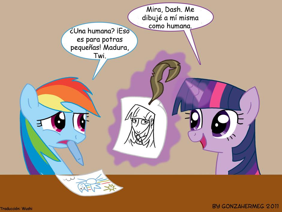 [Comics Of-topic] My little pony FIM [Diveetidos] 0003%2BDrawing%2BHuman%2Bby%2BGonzahermeg