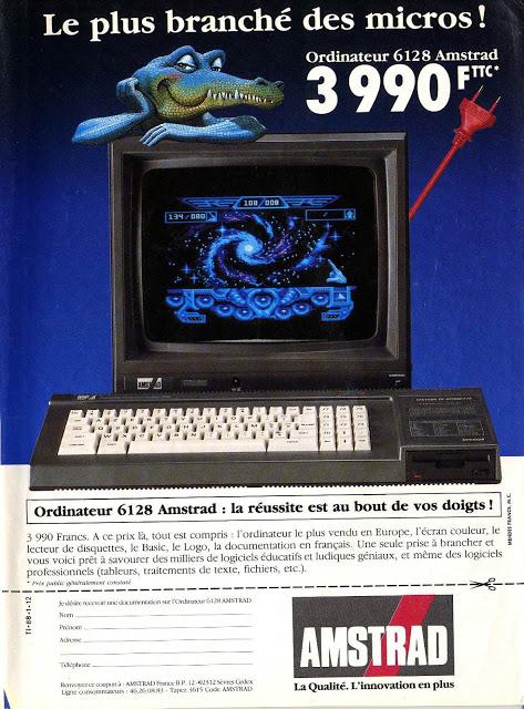 [Ordinateur] AMSTRAD CPC 464, 6128...(Amstrad). - Page 2 Pubs-amstrad001-749212