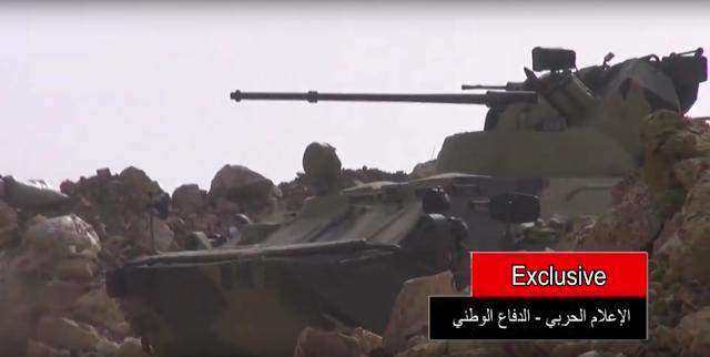 مدرعات BTR-82A الروسيه ودورها في الحرب الاهليه السوريه  8922