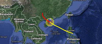 Almost a million people evacuated: Typhoon Mujigae with winds of 180 kilometers (112 miles) per hour set to pummel China  Untitled