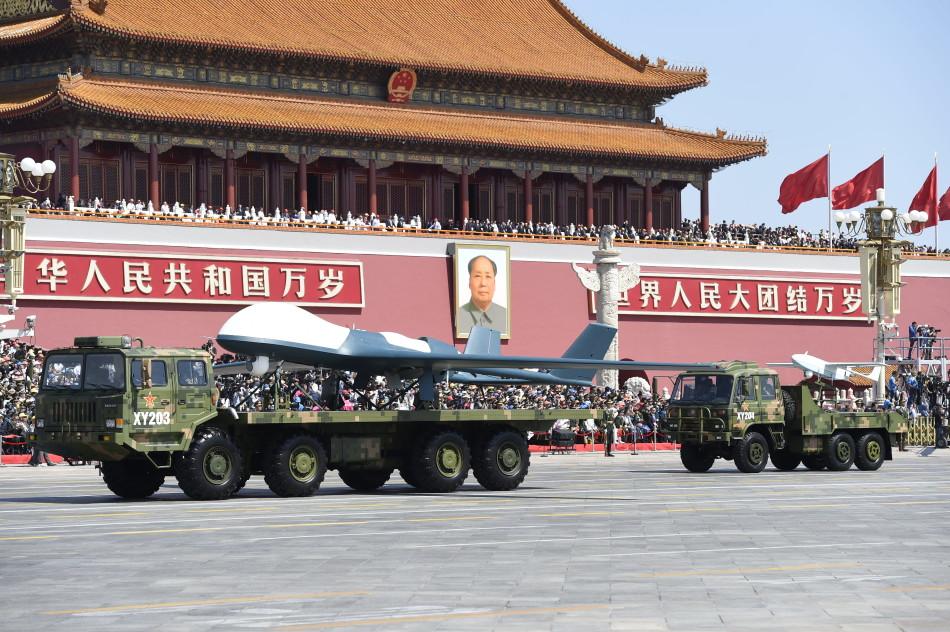 R. P. China - Página 41 Chinese%2Bunmanned%2Breconnaissance%2Battack%2Baircraft%2Bin%2BTiananmen%2BSquare%2B7