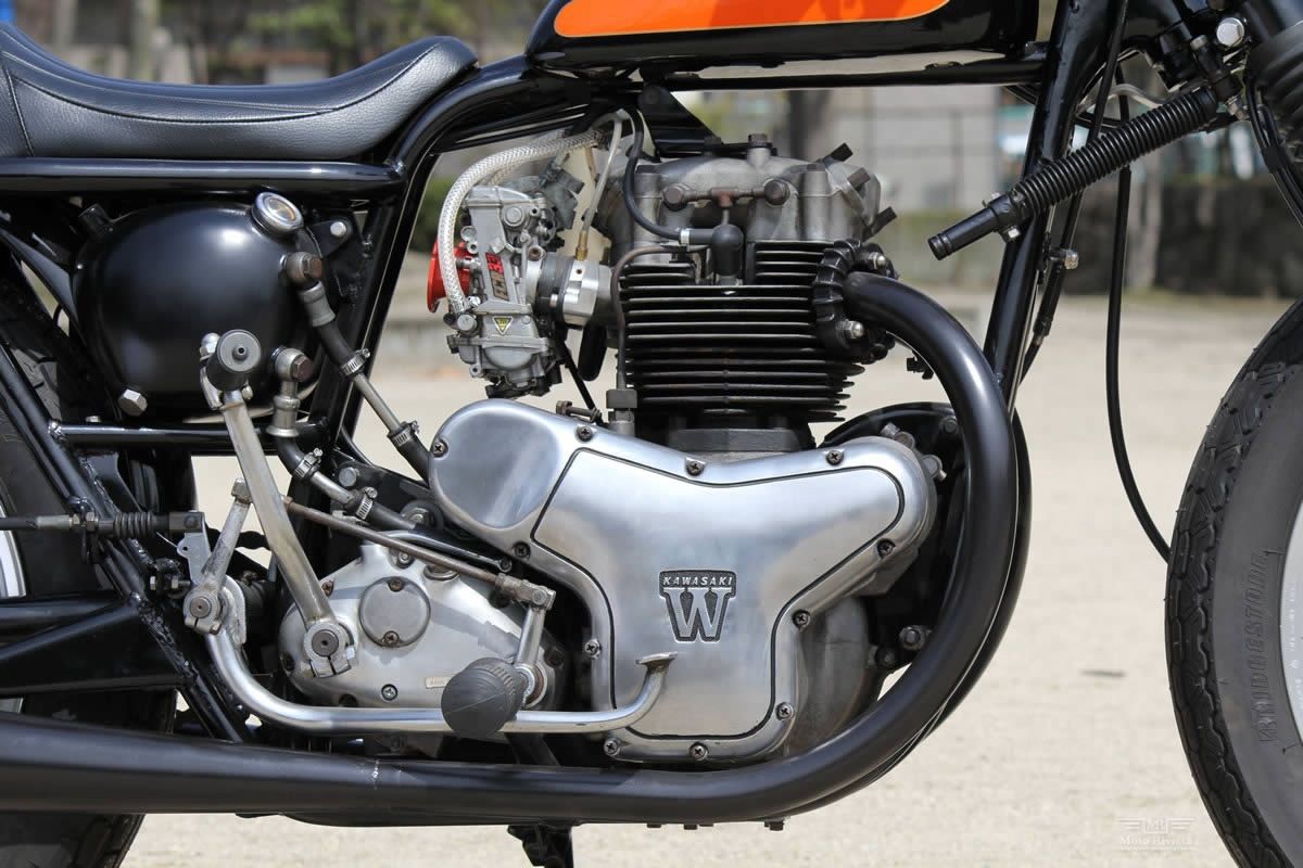 Kawasaki W3 Kawasaki-W3-Dirt-Tracker-Goods-Custom-Motorcycles-6