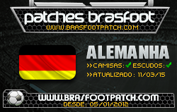 Patch Oficial Alemanha - Brasfoot 2015 Patches%2Bnovos