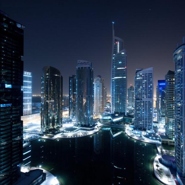 دبي ليلاً - صوراً غاية في الجمال Dubai-amazing-photos17