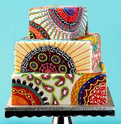Gateaux de Mariage traditionnel en Afrique Cake2