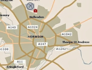 MADELEINE McCANN AND THE KRAY TWINS Norwich_map