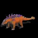 Utahraptor Ankylosaurus