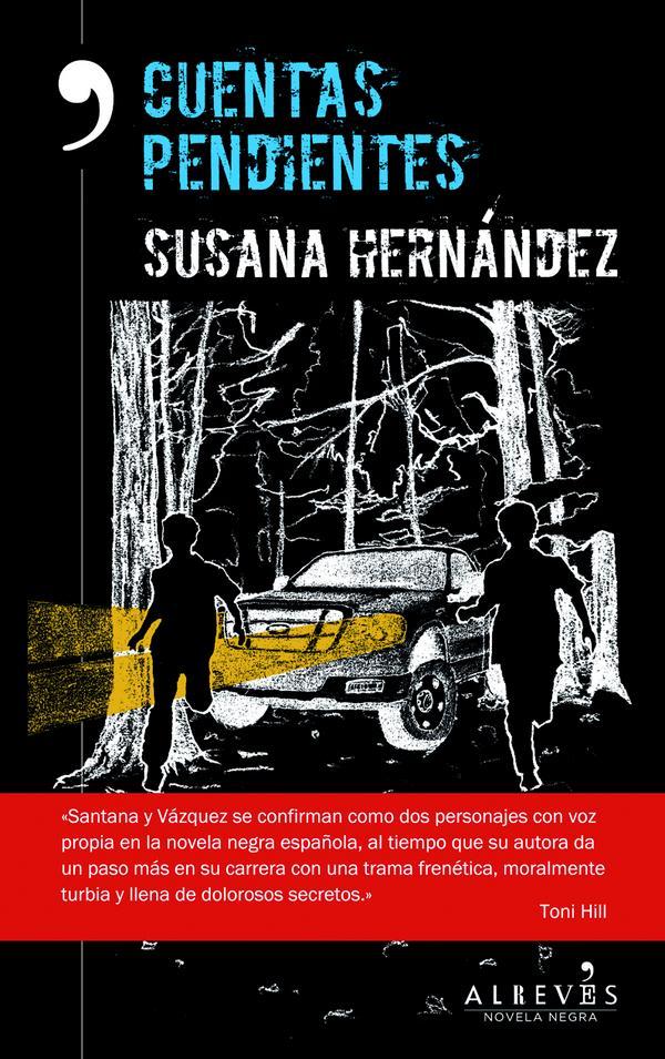 Cuentas pendientes (Santana y Vázquez 03) - Susana Hernández CM1xhjQUkAAMKCD