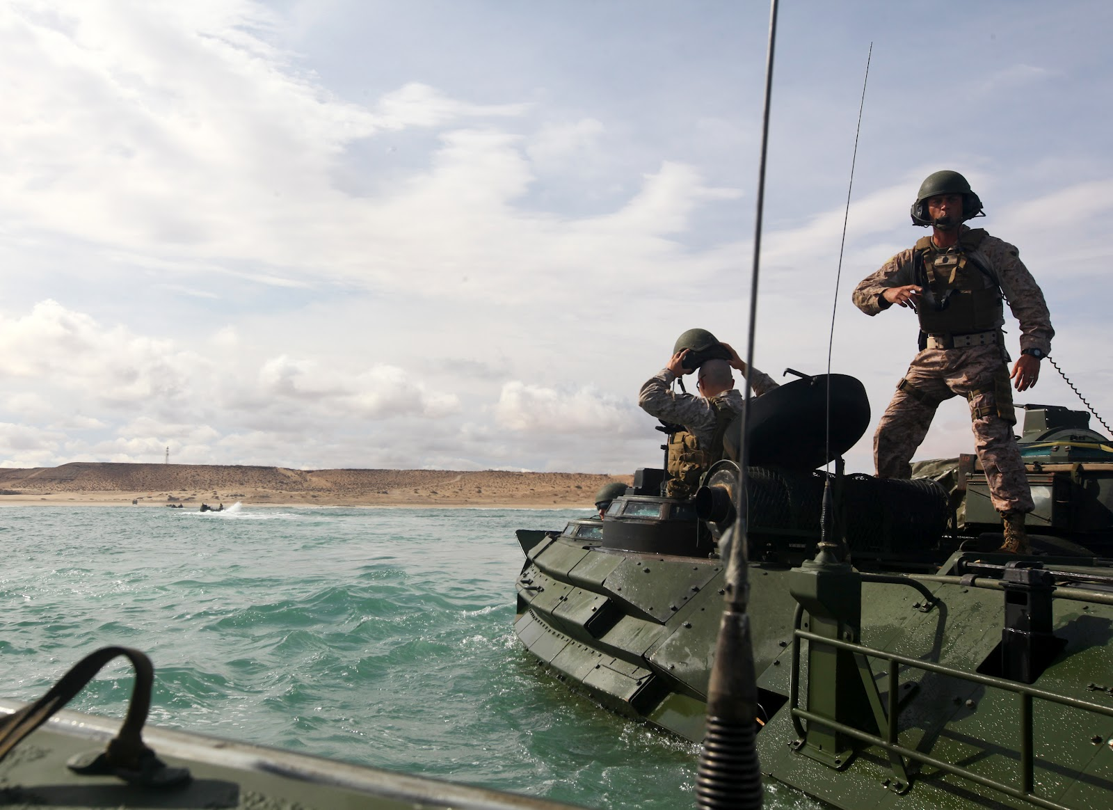 African Lion 2012 - Amphibious Operations 557675