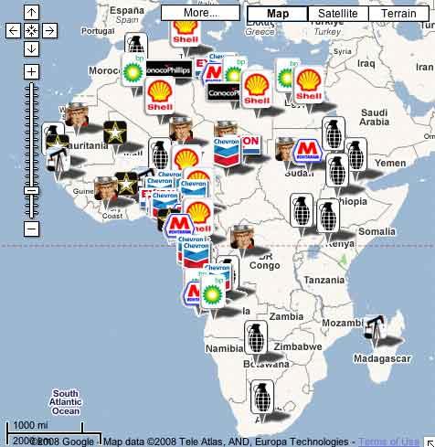 pour - Cartes et infographies de l'Afrique Africa-oilarms