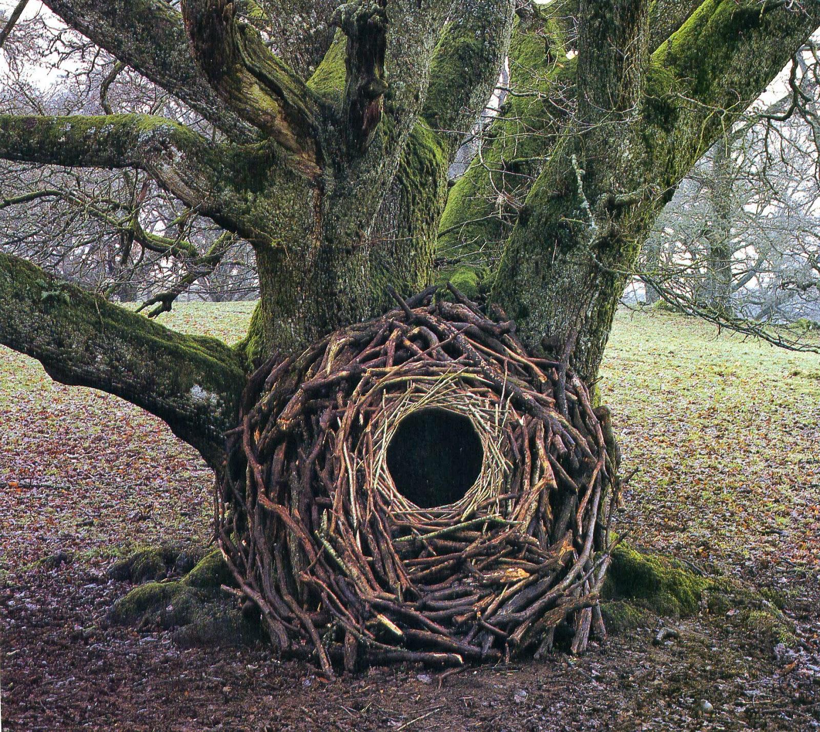 La sculpture du XXe siècle, qui me plaît Land-art-Andy-Goldsworthy-10