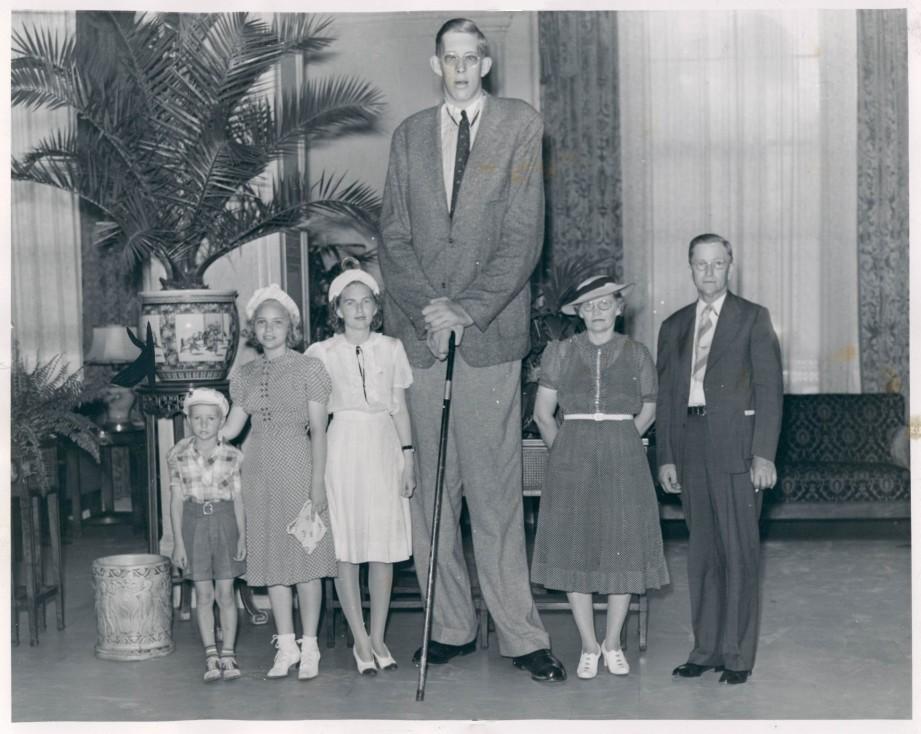 ¿Cuánto mide Robert Wadlow? - Altura - Real height 33