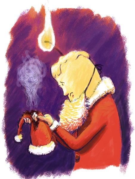[defis] Le calendrier de l'avent / Les 12 jours de Noël - Page 2 Bougie
