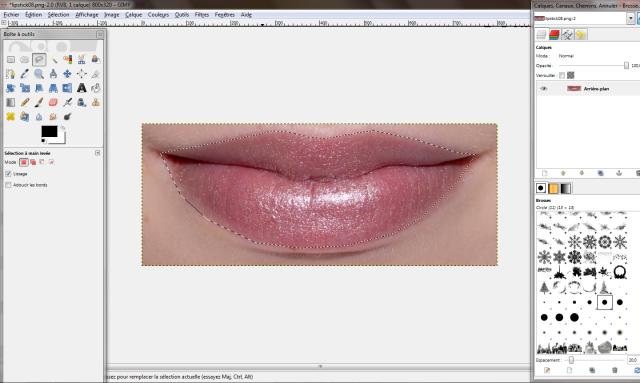[Intermédiaire] Créer un rouge à lèvres Tuto06