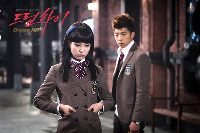 Дорамы IU-as-Kim-Pil-Sook-dream-high-19585742-650-433