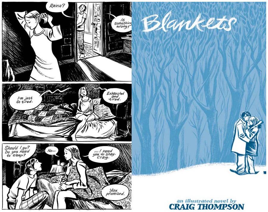 Preporuka Stripova Blankets-craig-thompson