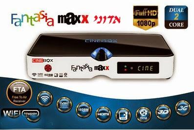 cinebox - CINEBOX FANTASIA MAXX HD DUAL CORE 3 TURNERS - PRIMEIRA ATUALIZAÇÃO - 24/04/2015 Sem%2Bt%C3%ADtulo
