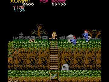 Los mejores videojuegos clásicos en Flash Ghost-n-goblins-01