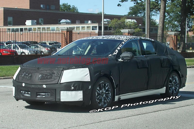 2016 - [Lincoln] MKZ 001-spy-shots-lincoln-mkz