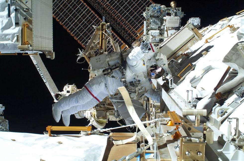 --Работа шаттла на орбите : фотографии-- Shuttle6