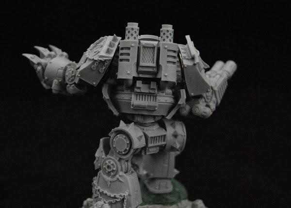 Warhammer 30k Sons of Horus  SOH_Contemptor_WIP_10