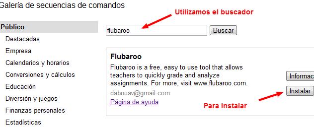 Tag google en Educación de Costa Rica Flubaroo05
