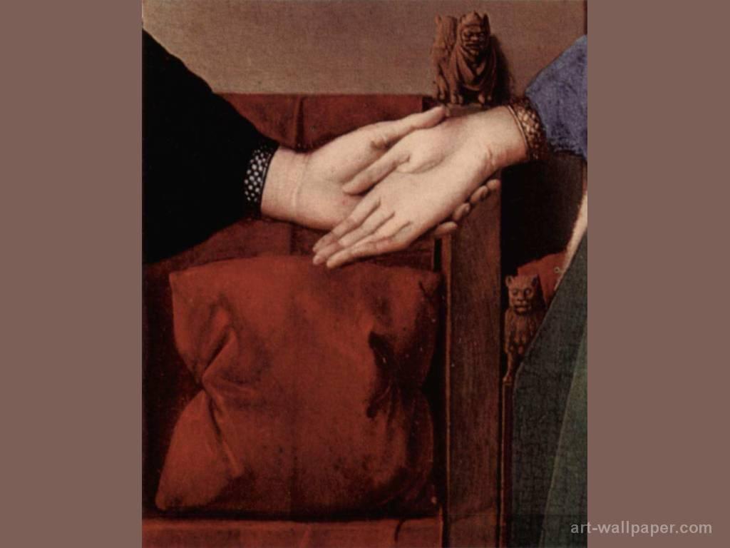 L'Amore nei Quadri - Pagina 3 Arnolfini%2Bmani