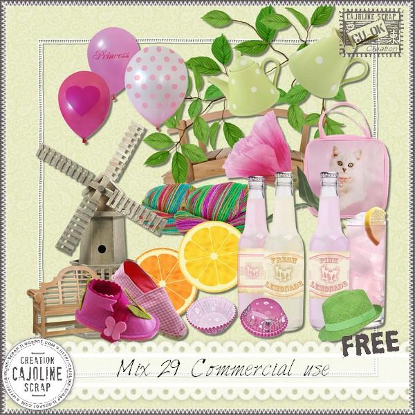 MIX 29 Commercial Use Cajoline_mix29_cu
