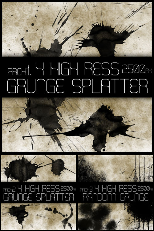 High Res Grunge´s Brushes 123