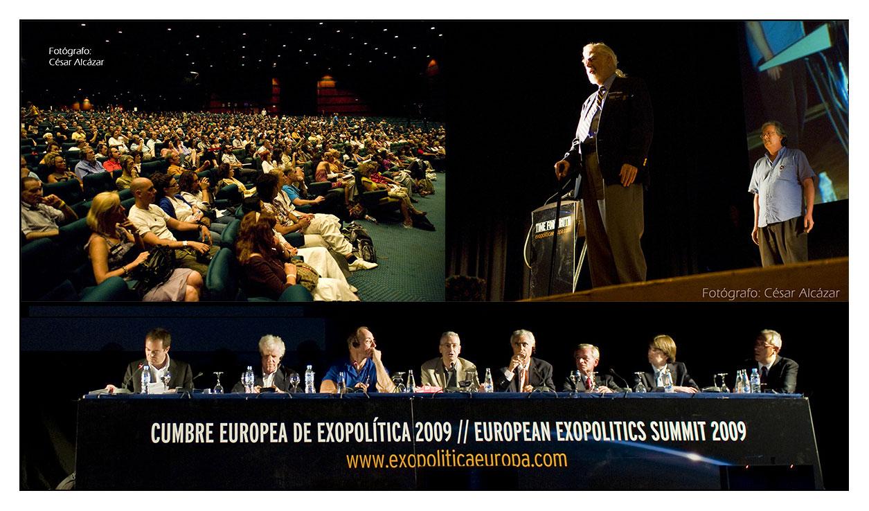 • Metodología para CONTACTAR con E.T.'s... Collage-cumbre-exopolitica