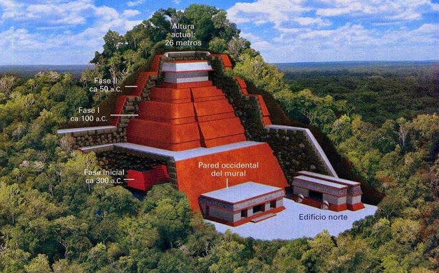Researchers confirm: The Largest Pyramid in Mexico has been found Teotihuacan%2B%25281%2529