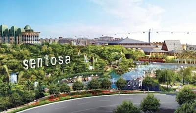 Tour Du Lịch Singapore 4 Ngày Giá Rẻ 2012 Sentosa