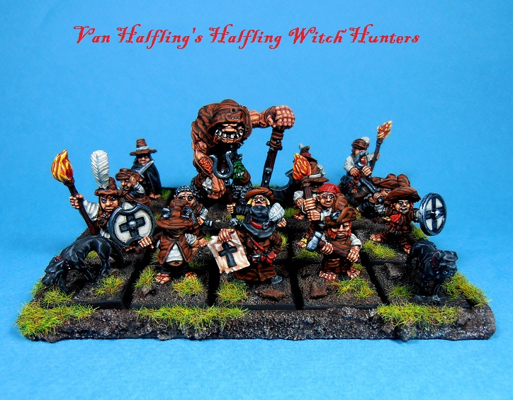Halfling Witch Hunters Witchhuntergroup