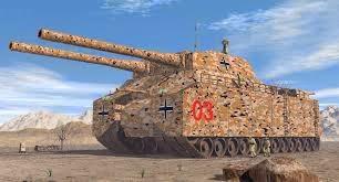 Los Supertanques nazis en la Segunda Guerra Mundial, los Landkreuzer SuperTanque