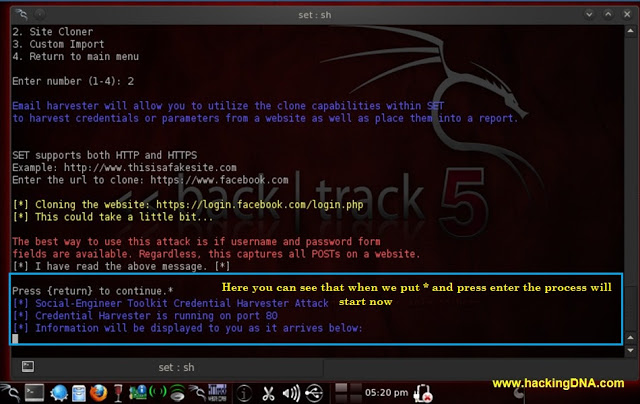 Hack account facebook với BackTrack 5 !!! Setwithbacktrack7