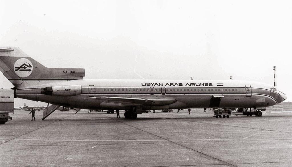 كوارث تأبى النسيان  1024px-Libyan_Arab_Airlines_Boeing_727_5A-DAH